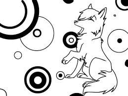 wolf coloring cute wolf coloring u2013 color nimbus