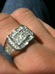 mens rings uk uk mens lab diamonds bling hip hop micro paved chunky iced out 925