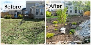 Cheap Diy Backyard Ideas Cheap Backyard Landscaping Ideas No Grass On A Budget Of Diy The
