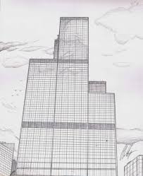 sears tower from bench by chriskogos on deviantart