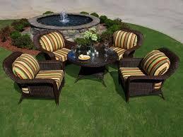 tortuga outdoor lexington wicker 5 piece conversation set wicker com