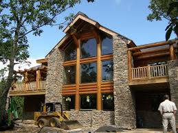 mountain log cabin house plans