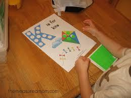 letter k printable k is for kite the measured mom