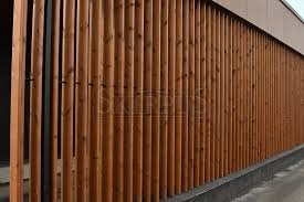Vertical Wooden Blinds Wooden Facade Louvers Skirpus Wooden Blinds Factory Wooden