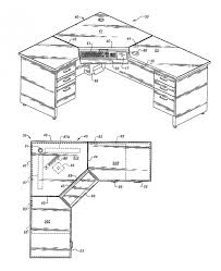 Computer Desk Plan L Shaped Desk Plans Pipe Desk Industrial Desk An L Shaped Desk
