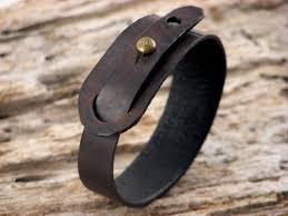 leather hand bracelet images 52 best leather cuffs bracelets images leather jpg