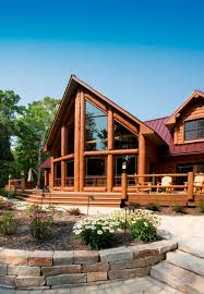 Free Log Home Floor Plans 55 Best Exteriors Images On Pinterest Timber Frames Wisconsin