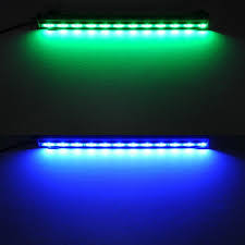 Led Blue Light Bar by 2017 6w 18 Led 46cm Rgb Aquarium Light Bar Fish Tank Air Curtain