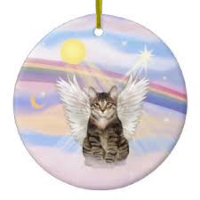 brown tabby cat ornaments keepsake ornaments zazzle