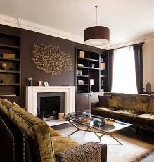 brown livingroom black and brown living room decor modern house