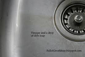 Full Of Great Ideas Out Damned Spot Out I Say Cleaning Your Not - Stainless steel kitchen sink cleaner