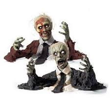 Zombie Decorations Zombie Horde Animated Halloween Prop Now You Can Have A Whole