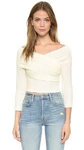 wrap sweater top line dot wrap sweater top shopbop