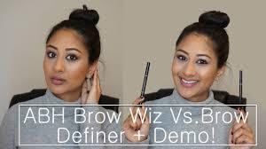 Where To Buy Anastasia Eyebrow Kit Anastasia Brow Definer Vs Brow Wiz Demo Makeup By Megha