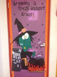 Classroom Halloween Door Decorations Drug Free Door Decoration Contest Dr Garza Elementary