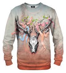skull sweater deer skull sweater mr gugu miss go