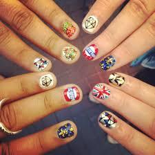 British Flag Nails The Royal Nail Salon Ryan Lanji