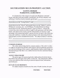 food broker agreement template template update234 com template