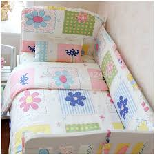 Diy Crib Bedding Set Baby Bedding Set 100 Cotton Comfortable Feeling Baby Bed Sets 5