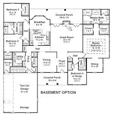 ranch house floor plans with basement ranch floor plans with basement walkout simple house plans with