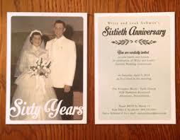 60th wedding anniversary invitations 60th wedding anniversary invitations on behance