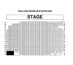 tmp seating chart tmp tacoma musical playhouse