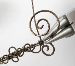 wire jewelry bracelet images Leaf vine filigree wire bracelet tutorial jewelry making journal jpg