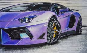 purple laferrari don zd lin draw to drive