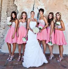 cheap pink bridesmaid dresses collections of pink bridesmaids dresses wedding ideas