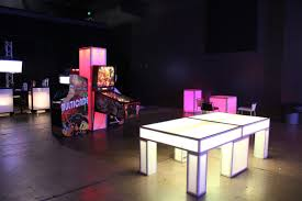Ping Pong Table Rental Led Ping Pong Table Event Rental