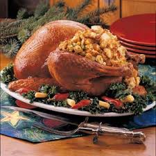 two bread stuffed turkey recipe taste of home