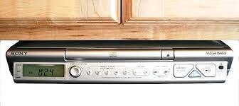 under cabinet stereo cd player under cabinet radio cd player com amusing radio under kitchen