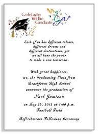 exle of invitation letter for graduation wedding