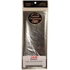mylar tissue paper jam paper tissue paper silver mylar 3 sheets pack you can