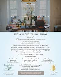 native plant sales india hicks trunk show april 6th gnps