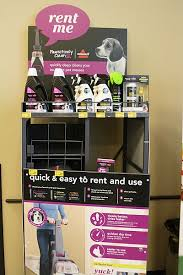 Renting A Rug Cleaner Pawsitively Clean Carpet Rental Machine At Petsmart Review