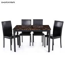 Black Dining Room Sets For Cheap by Online Get Cheap Dining Room Tables Aliexpress Com Alibaba Group