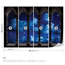 28 night sky wall mural wall murals easy decals sky murals details about the night sky wall mural photo wallpaper 3344dk amazing night sky wall murals decorative