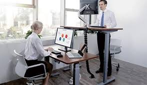 Adjustable Standing Sitting Desk Loctek Height Adjustable Standing Desk Desktop Workstation