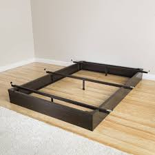 mantua java brown full size metal bed base free shipping today