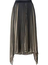 malene birger sale black and beige wikk skirt from by malene birger women pleated
