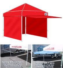 Pyramid Awnings Awnings E Z Up Shelters Van Raalte U0026 Co Inc Call 800 286 0030