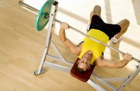 Proper Benching Where Weight Should Land On The Chest When Bench Pressing Chron Com