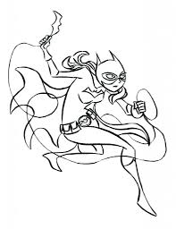 printable batgirl coloring pages 19618 bestofcoloring com