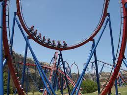 Nitro Six Flags Bolliger U0026 Mabillard B U0026m Coasterforce