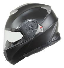 flat black motocross helmet bilt evolution helmet cycle gear