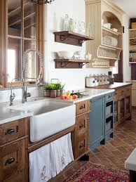 distressed kitchen cabinets houzz