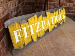 personalized painted diy wooden family name sign wall decoration