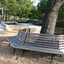 Benches In Park - hermann park bench kenneth lynch and sons