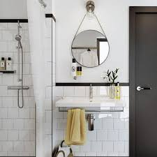 5 ways to work the round trend in your bathroom seasons in